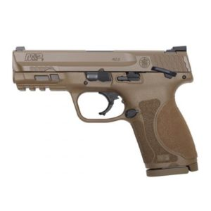 """M&P9 M2.0 4"""" Compact Flat Dark Earth Thumb Safety"""