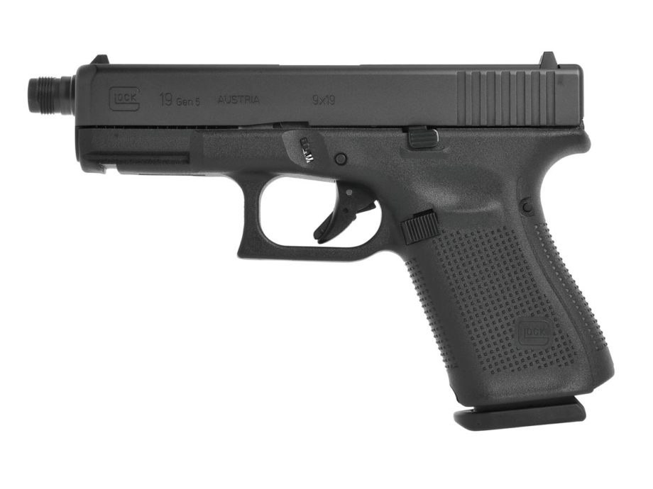 Pistolet Glock 19 Gen5 fileté