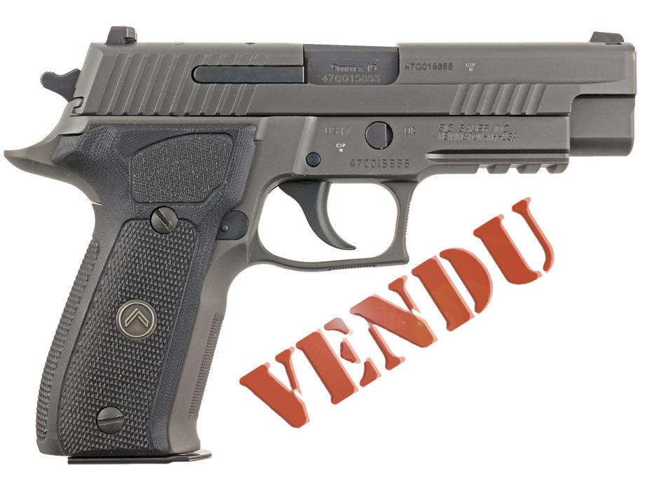 Pistolet Sig Légion calibre 9x19