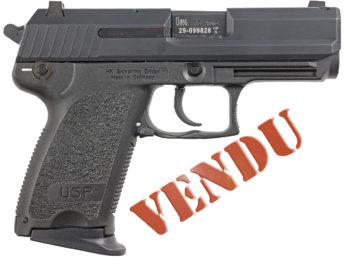 Pistolet Heckler & Koch USP Compact calibre 9-Para
