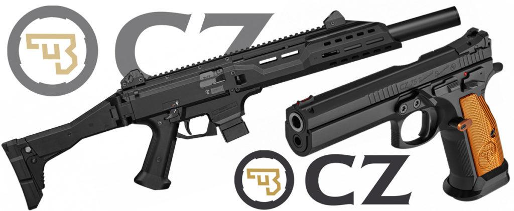 CZ Scorpion EVO3 S1 et TS Orange