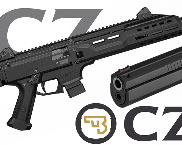 CZ Scorpion EVO3 S1 et TS Orange