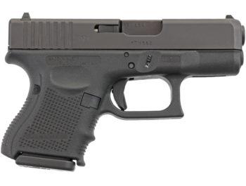 Pistolet Glock 26 Gen4 calibre 9x19mm