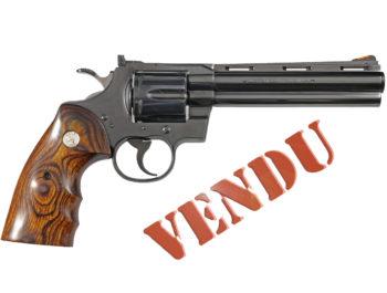 Revolver Colt Python Elite bronzé calibre 357 Mag