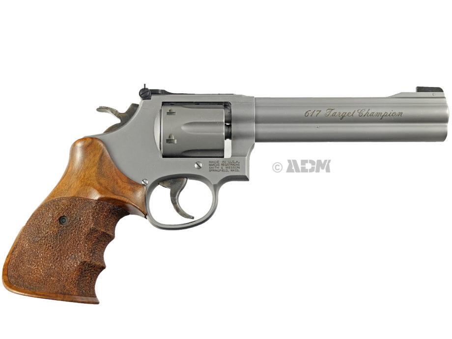 Revolver S&W 617 Target Champion Calibre 22LR