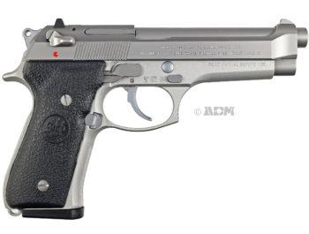 Pistolet Beretta 92FS inox calibre 9Para