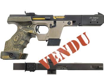 Pistolet Walther 25 Jahre edition calibre 32swl 22lr