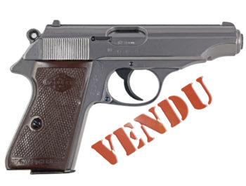 Pistolet Walther Manurhin Mod. PP Calibre 7,65mm